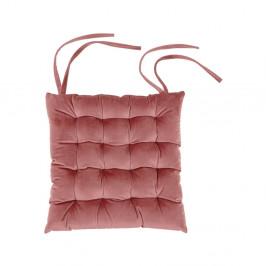 Ružový vankúš na sedenie Tiseco Home Studio Chairy, 37 x 37 cm