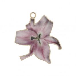 Kovová dekorácia v tvare kvetiny A Simple Mess Olmeto