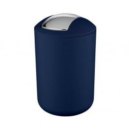 Tmavomodrý odpadkový kôš Wenko Brasil Dark Blue L