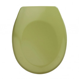 Khaki WC sedadlo Wenko Bergamo, 44,4 x 37,3 cm