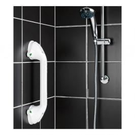 Biele bezpečnostné držadlo do sprchy pre seniorov Wenko Secura, dĺžka 42 cm
