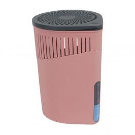 Ružový odvlhčovač vzduchu Wenko Drop, 1000 g