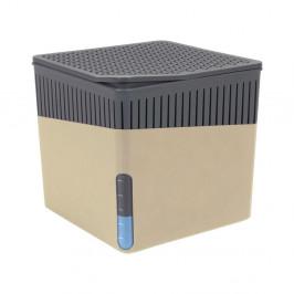 Béžový odvlhčovač vzduchu Wenko Cube, 500 g