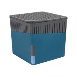 Modrý odvlhčovač vzduchu Wenko Cube, 500 g