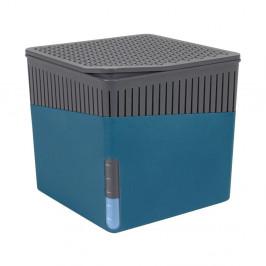Modrý odvlhčovač vzduchu Wenko Cube, 1000 g