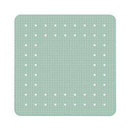 Mätovozelená protišmyková kúpeľňová podložka Wenko Mirasol, 54×54 cm