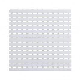 Biela podložka do sprchového koutu Wenko Arinos, 54×54 cm