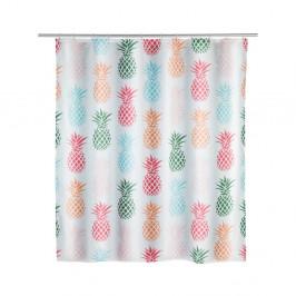 Sprchový záves Wenko Pineapple, 180×200 cm