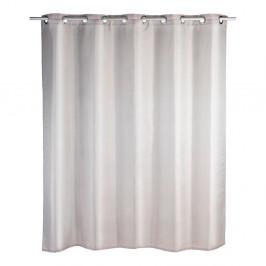 Sivobéžový sprchový záves Wenko Comfort Flex, 180×200 cm