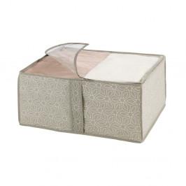 Béžový úložný box Wenko Balance, 40 x 55 x 20 cm