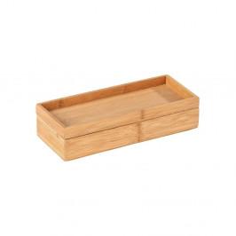 Bambusový úložný box s podnosom Wenko Terra