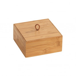 Bambusový box s vekom Wenko Terra, šírka 15 cm