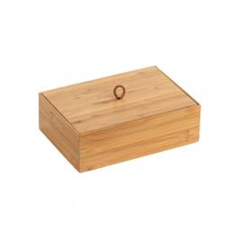 Bambusový box s vekom Wenko Terra, šírka 22 cm