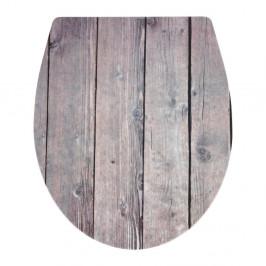 WC sedadlo s jednoduchým zatváraním Wenko Colonial, 46 × 39 cm