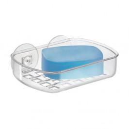 Transparentná samodržiaca nádobka na mydlo iDesign Suct