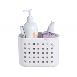 Biely samodržiaci košík iDesign Mini Shower