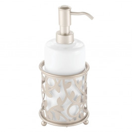 Biely dávkovač na mydlo iDesign Vine