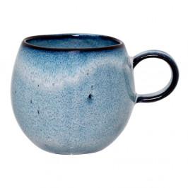 Modrý kameninový hrnček Bloomingville Sandrine, 240 ml