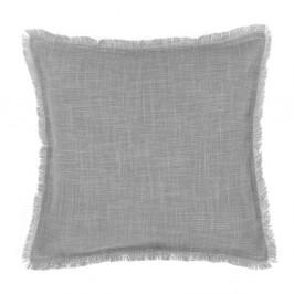 Sivý poťah na vankúš Tiseco Home Studio Stone, 45 × 45 cm