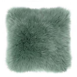 Zelený vankúš Tiseco Home Studio Sheepskin, 45 × 45 cm