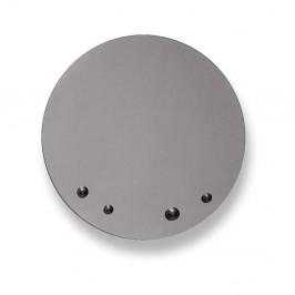 Zrkadlo v sivej farbe EMKO Dew, ø 55 cm