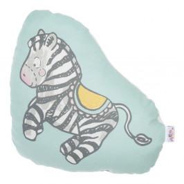 Detský vankúšik s prímesou bavlny Apolena Pillow Toy Zebra, 28 x 29 cm