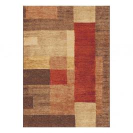 Hnedý koberec Universal Delta, 125 x 67 cm