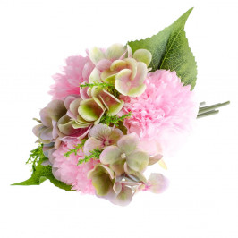 Umelý kvet v štýle pivonky s hortenziou Dakls