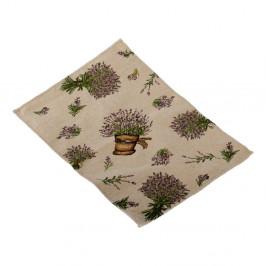 Prestieranie na stôl Dakls Flowers, 48x22cm
