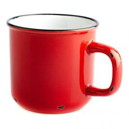 Červený keramický hrnček Dakls, 440 ml