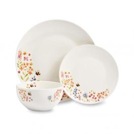 12-dielny set riadu z porcelánu Cooksmart ® Bee Happy