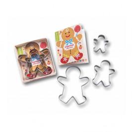 Sada 3 vykrajovadiel Cooksmart ® Gingerbread