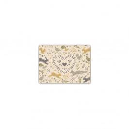 Sada 4 korkových prestieraní Cooksmart ® Woodland 29 × 21,5cm