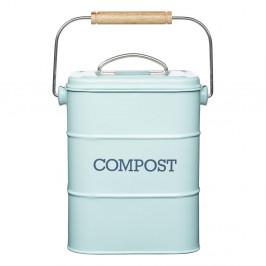 Modrý domáci kompostér Kitchen Craft Living Nostalgia