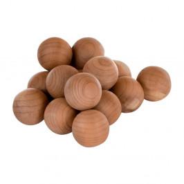 Sada 15 drevených vonných guličiek Premier Housewares Cedar Balls