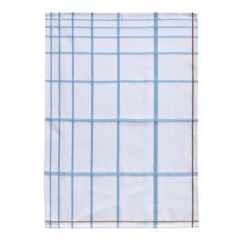 Bielo-modrá bavlnená kuchynská utierka Zone Garro, 50 x 70 cm