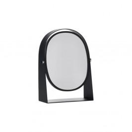 Čierne stolové kozmetické zrkadlo Zone Parro