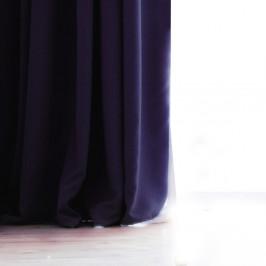 Tmavosivý záves DecoKing Pierre, 140 × 270 cm