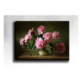 Nástenný obraz na plátne Tablo Center Pink Roses, 40 × 60 cm