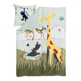 Detské obliečky Flexa Safari, 140 x 200 cm + 60 x 63 cm
