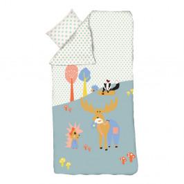 Detské obliečky Flexa Forest, 140 x 200 cm + 60 x 63 cm