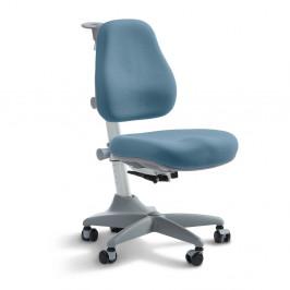 Modrá detská otočná stolička na kolieskach Flexa Verto, 7 - 12 let