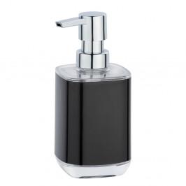 Čierny dávkovač na mydlo Wenko Masone