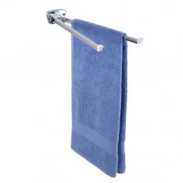 Biely nástenný držiak na uteráky Wenko Basic 2 Arms