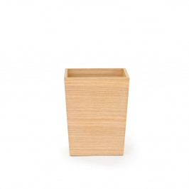Malý odpadkový kôš z dubového dreva Wireworks, výška 28 cm
