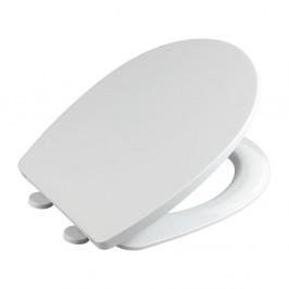 Biele WC sedadlo z termoplastu Wenko Tilos