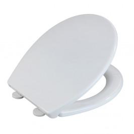Biele WC sedadlo z termoplastu Wenko Korfu