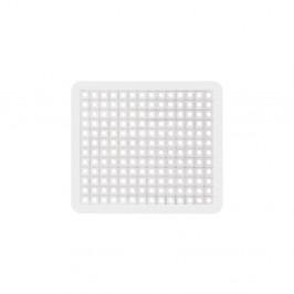 Biela podložka do drezu Wenko Sink Mat, 31×26,5 cm