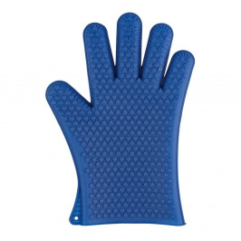 Modrá silikónová rukavica do rúry Wenko Glove