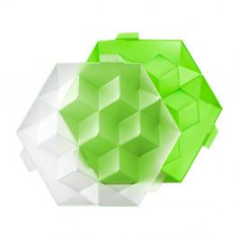 Zelená silikónová forma na ľad Lékué Giant Ice Cube